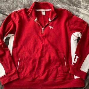 Victoria secret Iu 1/4zip up sweatshirt